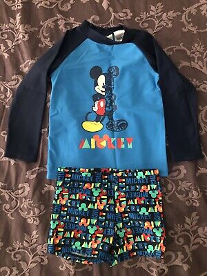 Brand New Mickey Mouse Bathers Size 2
