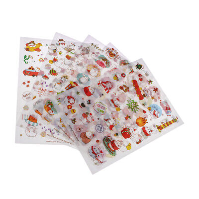 6 Sheets Self Adhesive Sticker Sticky for DIY Journal Diary Planner Decor #3