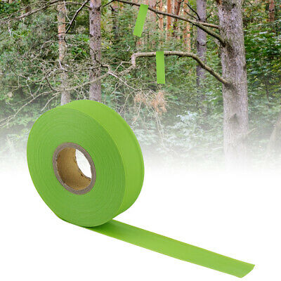 45m Roll High Visibility Non-adhesive Tape Camping Hiking Marking Caution Ribbon