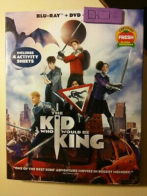 The Kid Who Would Be King Blu-Ray/DVD (digital code isn't included)