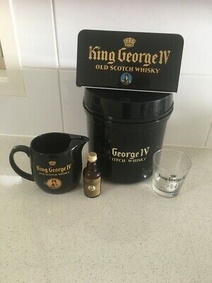 King George 1V scotch whisky collectables