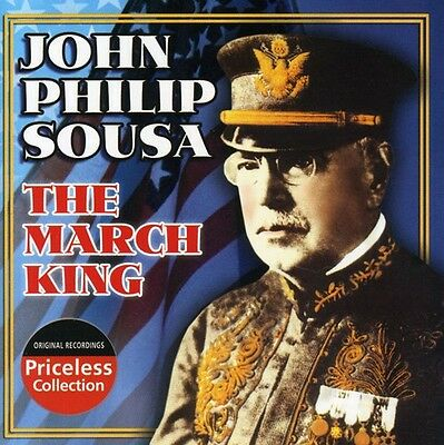 John Philip Sousa - March King: Conducts His Own Marches [New CD]