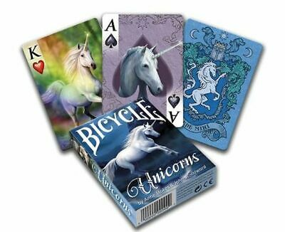 Bicycle Anne Stokes Unicorns Poker Playing Cards Deck Usa Uspcc New