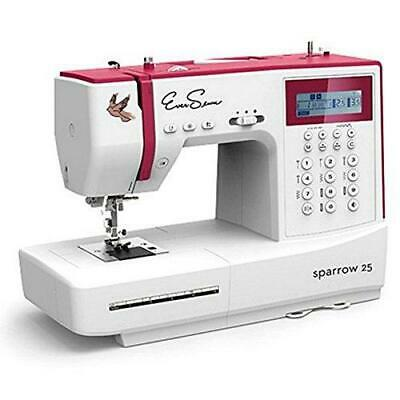 Eversewn - Sparrow 25 -197 Stitch Computerized Sewing Machine w/ Bobbins & 6 pie