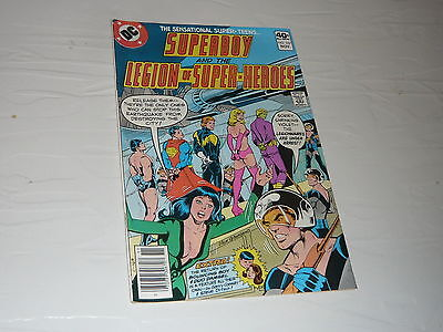DC Comics Superboy Legion Super heroes No257 superhero cartoon good condition