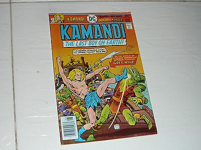 DC Comics Kamandi superhero no44 1970s vintage full colour Last Boy on Earth