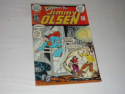 DC Comics Superman's pal Jimmy Olsen No163 superhero cartoon 1970s vintage