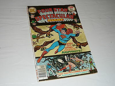 DC Comics Four Star Spectacular Superman No5 superhero cartoon Wonder Woman