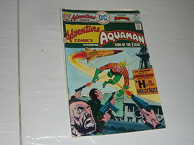 DC Comics Aquaman No442 superhero 1970s vintage full colour Adventure comics