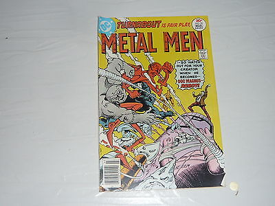 DC Comics Metal Men No50 stored since 1970s vintage classic superhero Doc Magnus