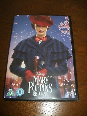 Mary Poppins Returns (2019) DVD,watched once from new