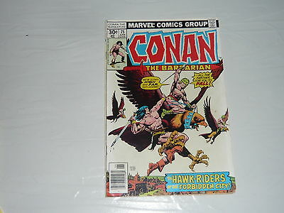 DC Comics Conan the Barbarian No75 stored since 1970s vintage classic superhero