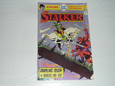 DC Comics Stalker No2 stored since 1970s vintage classic superhero DarklingDeath