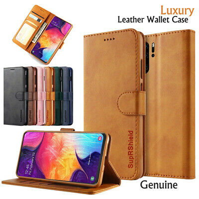 Classic Wallet Leather Case Flip Stand Cover For Samsung Galaxy A20 A30 A50 A70