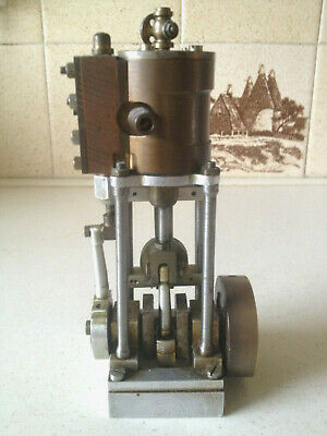Live Steam Upright Engine - Scratch Built