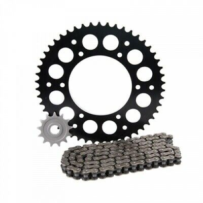 Primary Drive Alloy Kit & O-Ring Chain Black Rear Sprocket 1437620225