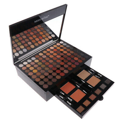 180 Color Matte Eyeshadow Blush Concealer Powder Palette Case & Makeup Brush