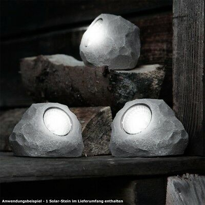 LED Lighting Solar Lamp Decor Stone Lxbxh 78x60x55 mm Patio Lamp Light