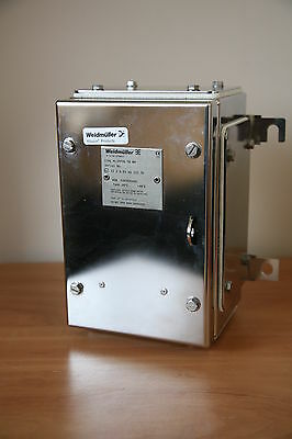 WEIDMULLER Enclosure Stainless Steel 229 x 152 x 130 Junction Box