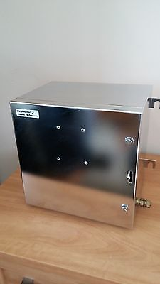 WEIDMULLER Enclosure Stainless Steel Electrical  255 x 255 x 200 Junction Box