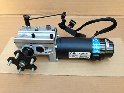 Pride Quantum 600 Series Electric Wheelchair - L/H Motor Gearbox - Spare Parts