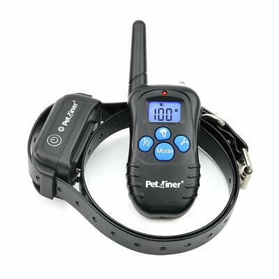 Petrainer 100% Waterproof Dog Shock Collar with Remote Dog Training Collar with