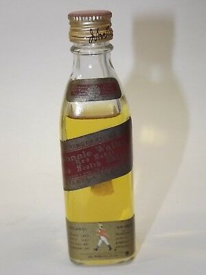 Johnnie Walker Whisky Red Label 4,7 cl 43 % mini flasche bottle miniature