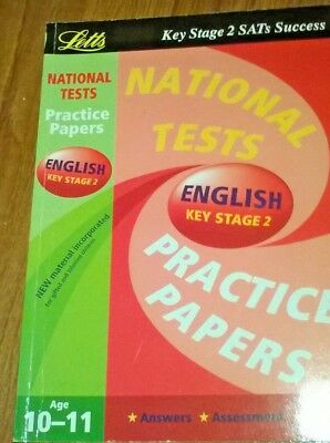 National Test Practice Papers 2003: Key stage 2: English by Letts Educational (P
