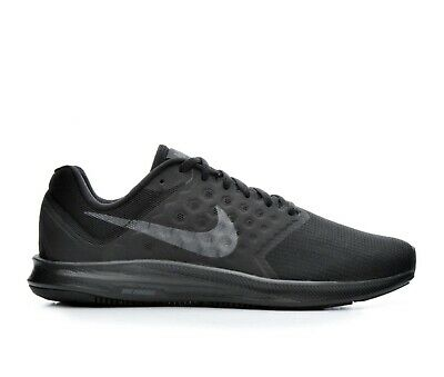 520e92638ab5 Mens Nike Downshifter 7 Running Shoes Wide 4E Black Anthracite 852460 001