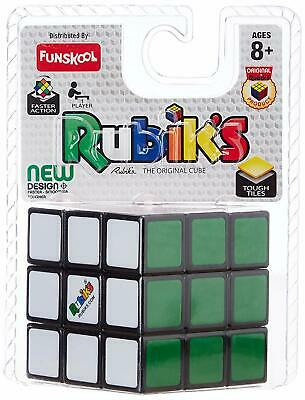 Rubik's Cube 3x3 Original For Ages 3+ New & Sealed Free Postage