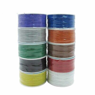 PVC 250M Electrical Wire Wrapping Wrap Copper Wire PCB Wire Tool 0.5 Mm Hot Sale