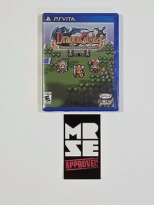 Dragon Sinker Limited Run Games #189 for Sony PS Vita New Sealed