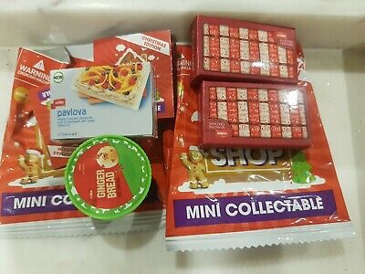 Christmas Coles Little Shop Mini Collectables mixed lot