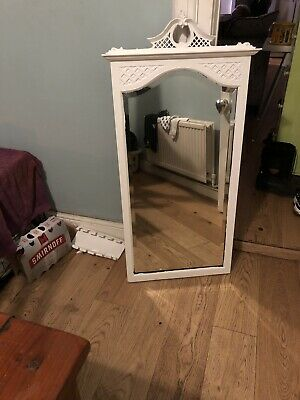 mirror Vintage Shabby Chick White