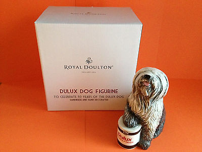 Royal Doulton - Dulux Dog Figurine - To Celebrate 50 Years Of The Dulux Dog