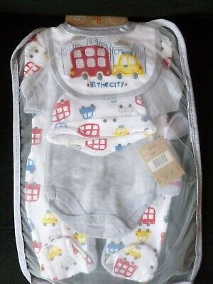Lily And Jack In The City 5 Piece Set Newborn Nwt