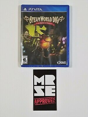 Steamworld Dig Limited Run Games #94 for Sony PlayStation Vita New Sealed