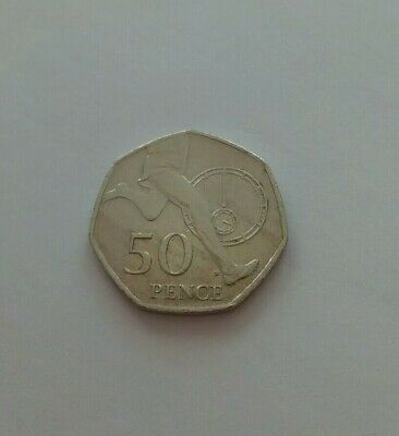 ROYAL MINT LONDON 2004 4 Minute Mile 50p COIN Roger Bannister