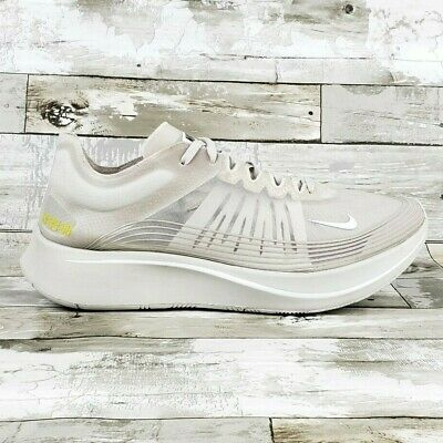 cheap for discount 07981 c4cdc NIKE ZOOM FLY SP Men Running Shoes Light Bone/White AJ9282-002 Sizes ...