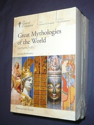 Teaching Co Great Courses TRANSCRIPTS  :    GREAT MYTHOLOGIES of the WORLD   new