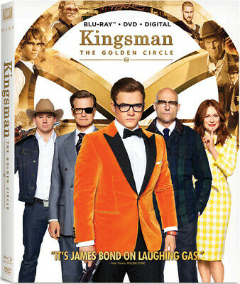 """KINGSMAN: THE GOLDEN CIRCLE"" - NEW/SEALED Blu-Ray/DVD/Digital + Slipcover!"