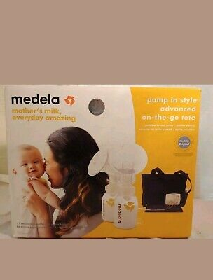 Medela In Style Advanced Double Breast Pump w/ On-The-Go-Tote