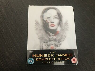 The Hunger Games: The Complete Collection Steelbook Lenticular