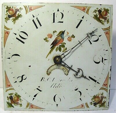 Painted Dial Longcase Movement  - Circa 1820 - Original & Complete