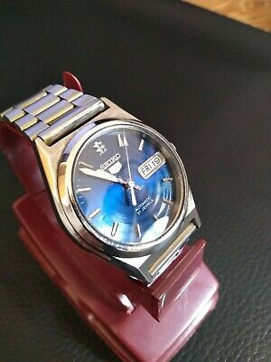 Vintage SEIKO 5 AUTOMATIC 7s26-0070 21 Jewel WATCH WITH DAY & DATE