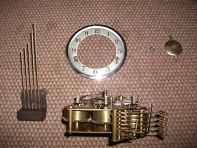 Westminster Chiming Movement,Pendulum & Hands Early 1930'S