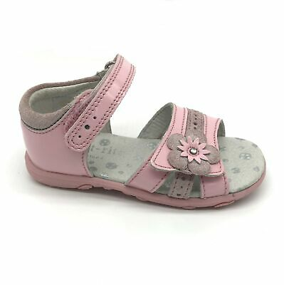 Start-rite Phoebe Pale Pink Patent Leather Girls Sandals 40% OFF RRP