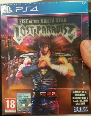 Fist Of The North Star Lost Paradise - Kenshiro Edition Ps4 Italiano Limited Ed.