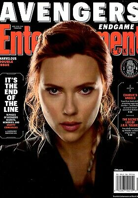 Entertainment Weekly Magazine April 19-26, 2019 Cover 3 of 6 AVENGERS ENDGAME
