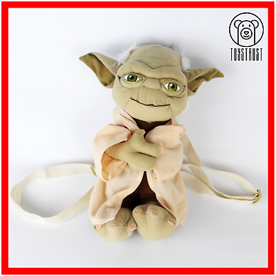 Yoda from the Star Wars Backpack Plush Character Kids Bag Jedi Master Small